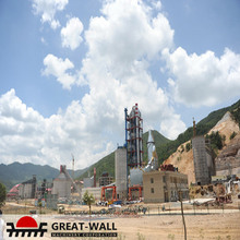 Effectively turn key cement production line in bolivia