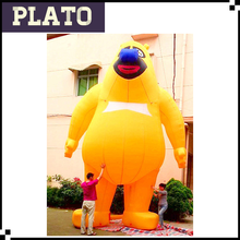 giant custom yellow inflatable bear for advertising , giant inflatable polar bear for sale