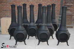 cast iron outdoor chiminey chimineas