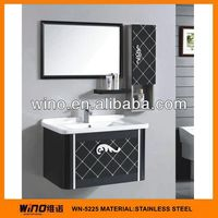 New model wall mount painting used vanity cabinets for bathroom