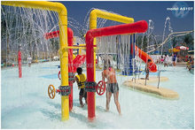2015 hot sale water park water column spray for children games