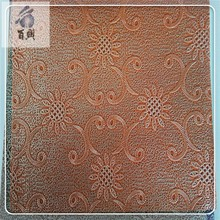 Synthetic upholstery pvc leather