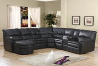 New Design Recliner Corner Sofa Set With Cup Holders And Chaise3031