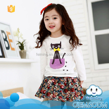 New products cute design kids clothing wholesale baby clothing set