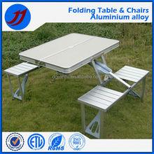 Outdoor camping picnic portable aluminum folding table