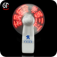 Promotional LED Flashing Small Fans( CE, RoHS Approval )