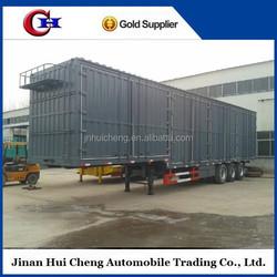 3 axle 60ton box container trailer