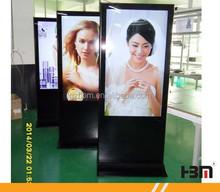 floor standing lcd wifi digital advertising display