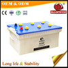 Cheap 24v dry car battery 12v 200ah for trucks