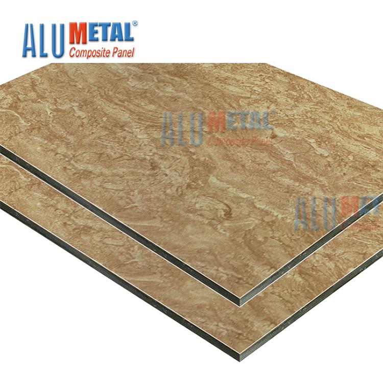 Nuevo compuesto de revestimiento de la pared/Granito panel compuesto de aluminio