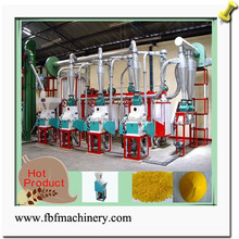 New Condition and Engineers available to service machinery overseas After-sales Service Provided corn flour milling line