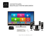 Amlogic s812 android tv box quad core android smart tv receiver box with cccam