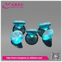 10mm semi precious gems stone blue topaz rough