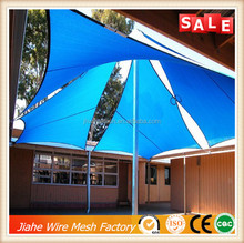 high quality car parking shade cloth /car parking shade net sun sail shade factory/export sun shade netting for car parking