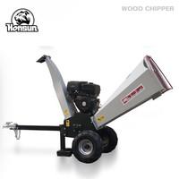 (HS-GS-04) 13HP Honda GX390, Kohler Command, Briggs & Stratton powered gasoline engine mini log shredder chipper