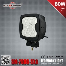 Foshan Sammoon Lighting & Electronic co.,ltd Off Road 80W CREE LED Work Light_SM-7800 Head lamp
