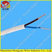 Light duty PVC sheathed PVC insulated 300/300v flexible ho3vvh2-f cable