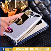 Newest design ultra-thin tpu&acrylic case, mirror case tpu note 3 cover