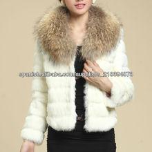 2013 nuevo gama alta noble abrigo de piel para mujeres