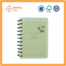 spiral bind address book with index pages