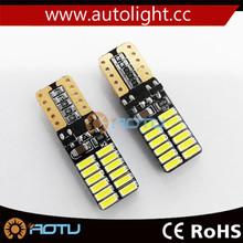 2015 Newest Car Turn Signal Light T10 W5W Bulb Canbus 5630 chip