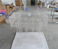 профессиональный дизайн высокая lucency акриловые аналой/подиум