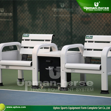 2015 Aluminum Tennis Court bench