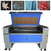 1490 Plastic mdf acrylic leather fabric co2 wood laser cutting machine price /granite co2 laser engraving machine hot sale