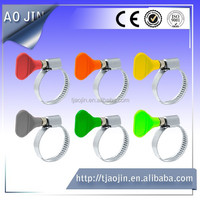 germany type clamp stainless steel handle hose clamp for water pipe
