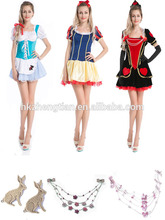 S-3XL plus size instyles women sexy party costume alice in wonderland costumeerotic lingerie