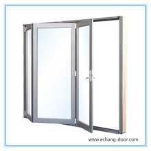 Echang brand double glass aluminum sliding window with 10 year warranty