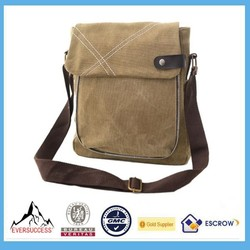 Stylish Men's Canvas Shoulder Messenger School And College Bags Tote