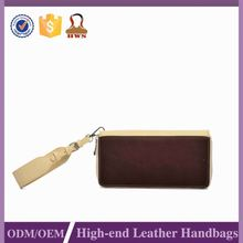 Hot Sell Promotional Nice Quality Customized Logo Wallet Genuine Leather Manufacturer