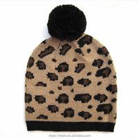 Warm Winter HatFree Knitting Pattern Hat BeanieCustom Knitted Pom Beanie Hat