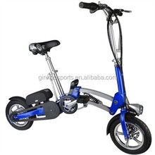 36v 10.5ah lithium battery 350w motor 12 inch kenda wheel folding city lady electric bike