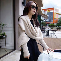 New Fashion Korean Winter-Autumn Solid Crochet Scarves, Brand Casual Women Soft Candy Color Scarf Shawl 7689