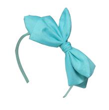 color azul nudo de encaje arco diadema diadema