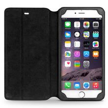 QIALINO Elegant Top Quality Oem Hand Maded For Iphone 6 Leather Cell Phone Case