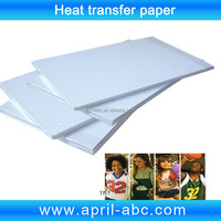 A4 Heat transfer paper for light color T-shirt