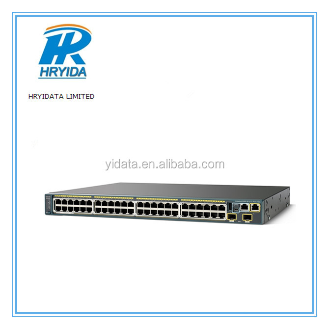 CISCO Catalyst 2960 WS-C2960S-48FPD-L 10/100/1000 Mbps Ethernet Empilable Commutateur
