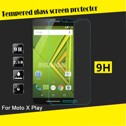 Factory price 2.5D curved for Moto x play tempered glass screen protector for Moto x play screen protector