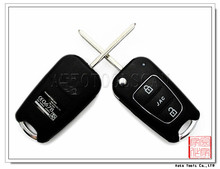 folding key cover for Hyundai Jac shell 3 buttons AS020016