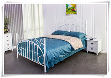 2015 new morden design bed comfortable metal bed Qingdao manufacturer