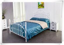 2015 new morden design comfortable metal bed Qingdao manufacturer