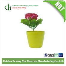 Eco Friendly Bamboo Materials Mini Garden Flower Pots