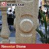 Newstar customized shape natural stone column