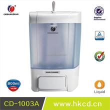 800ml Big Volume Wall Mounted Manual Hand Liquid Soap Dispenser for hotel /shopping mall/club CD-1003A