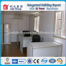 China modified shipping container house for shop