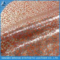 1412005-5355-2-1 Ningbo Bridge Free Sample Available Foiled Grain PU For Sofa