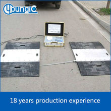 China factory high quality Dynamic Weigh Pad pad weighing scale portable axle scale